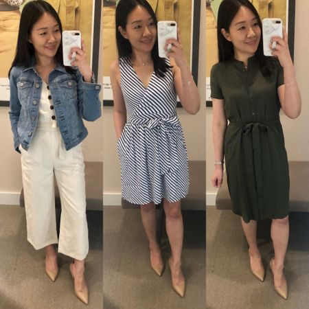 A few new LOFT fitting room reviews are now on www.whatjesswore.com! Sale Alert: Get free shipping + 60% off select full-price styles and 40% off almost everything else at LOFT. Use code CYBERVIP. Unlike code CYBER the CYBERVIP code works for an extra 50% off + an extra 10% off sale dresses, tops and sweaters. Sale ends 6/5 at 3AM ET. You can also use code JUSTFORYOU for 30% off the sneak preview styles. Just a friendly reminder for Cardmembers that today is the first Tuesday of the month which means you automatically save an extra 15% off at checkout (no code needed). @liketoknow.it http://liketk.it/2CiNn #liketkit #LTKsalealert #LTKspring #LTKstyletip #LTKshoecrush #LTKunder50 #LTKunder100 #loveloft
