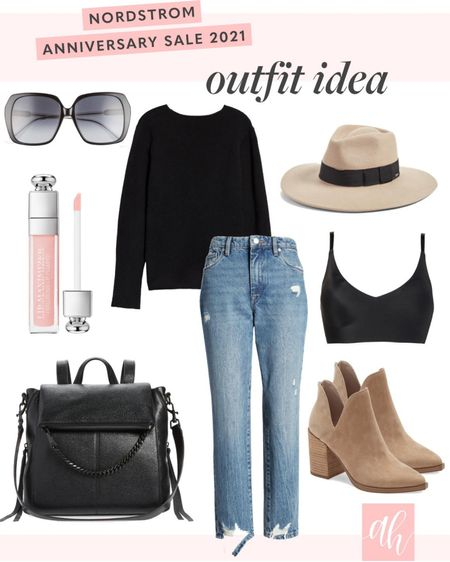 Casual outfit for fall and winter season, on sale items during the Nordstrom anniversary sale http://liketk.it/3jMdA #liketkit @liketoknow.it #LTKsalealert