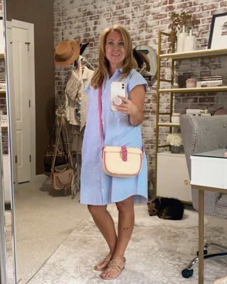 Blue & white striped dress. http://liketk.it/3jNYc #liketkit @liketoknow.it