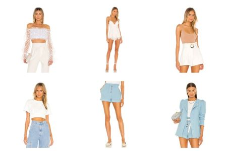 Whites and blues for summer   #LTKtravel #LTKworkwear #LTKunder100
