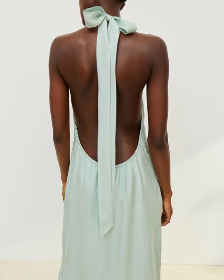 Love this backless dress! http://liketk.it/3jEdZ #liketkit @liketoknow.it #LTKunder100 #LTKunder50 #LTKsalealert #weddingguest #weddingdress #weddingguestdress #backless #backlessdress #summerdress #midi #maxidress