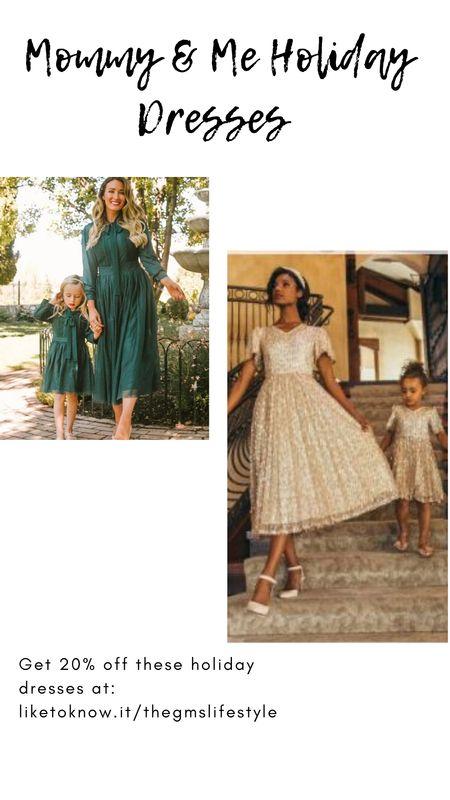 Holiday dresses by Ivy City Co.  20% off all weekend! (Including Mommy & Me styles for the minnie's).  http://liketk.it/32xHu   @liketoknow.it #liketkit   #LTKgiftspo #LTKsalealert #LTKstyletip #LTKunder50 #LTKunder100 #LTKfit #LTKbaby #LTKkids #mommyandme #holidaydresses #giftideas