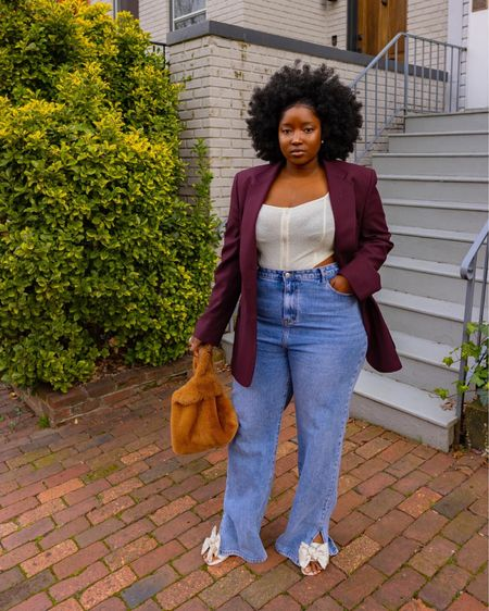 All items I am wearing are out of stock. I found some alternatives / similars linked below. I really love this outfit perfect for spring and Fall  Follow me on Instagram @wonder.fro for more looks and pictures   http://liketk.it/3aBrA #liketkit @liketoknow.it @liketoknow.it.europe @liketoknow.it.home @liketoknow.it.family @liketoknow.it.brasil #LTKcurves #LTKsalealert #LTKunder50