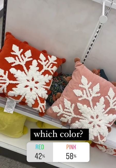 Christmas pillows at target   #LTKHoliday #LTKunder50
