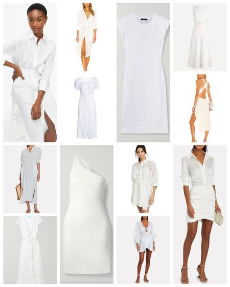 White spring & summer dresses to shop now!  🤍🤍🤍   http://liketk.it/3cxWK #liketkit @liketoknow.it Shop your screenshot of this pic with the LIKEtoKNOW.it shopping app  White | white dresses | spring dresses | summer dresses | lace dresses