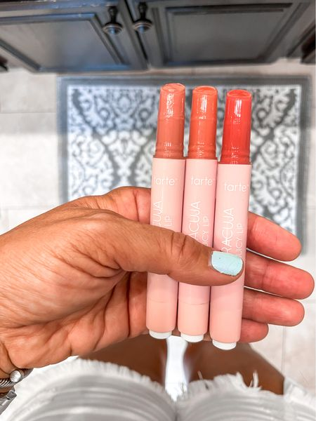 Best of lipstick, Chapstick, lipgloss all in one that is hydrating, not sticky and smells great. I tried each color on in my Instagram stories. Starting from left to right Rose, grapefruit, strawberry  #LTKbeauty #LTKsalealert #LTKstyletip