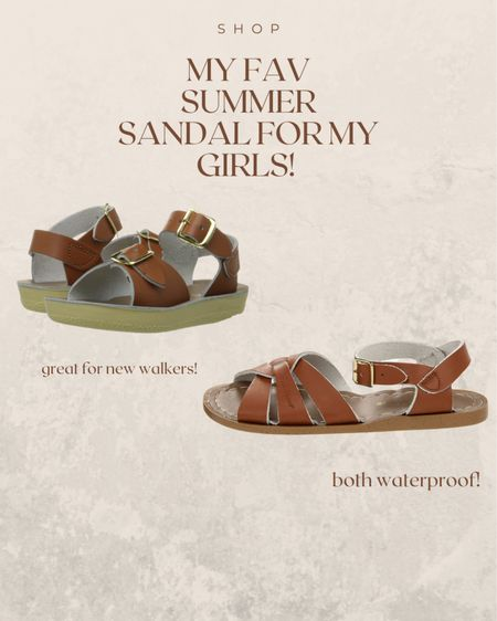 my fav summer sandals for the girls! Waterproof!   http://liketk.it/3c2yu #liketkit @liketoknow.it