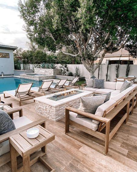 Modern patio furniture West elm patio furniture    #LTKfamily #LTKstyletip #LTKhome