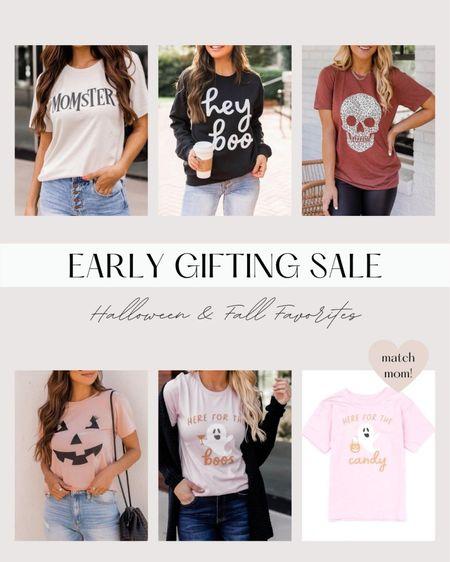 Some of my favorite Halloween shirts on sale! || #competition #fall #halloween   #LTKSeasonal #LTKHoliday #LTKSale