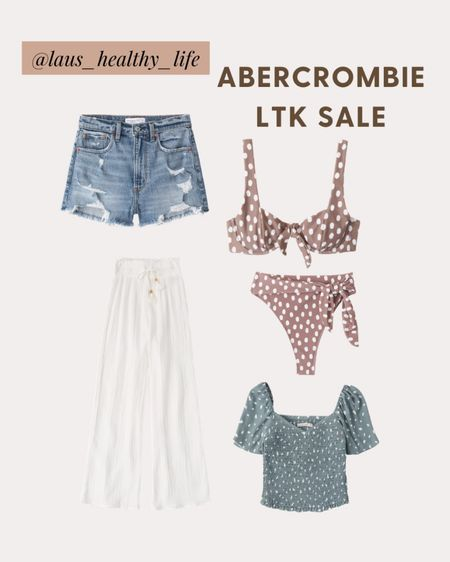My current order from Abercrombie taking full advantage of the #LTKSpringSale I am a small in everything except the bathing suit where I got M! http://liketk.it/3ctdY #liketkit @liketoknow.it #LTKunder50 #LTKswim