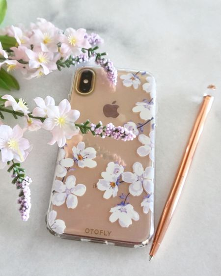 Loving my new iPhone X / Xs Slim Fit Clear case with Purple & White Flowers. This OTOFLY Cell Phone Case from Amazon is a super durable, shockproof & anti-scratch iPhone Case. http://liketk.it/2V2Wl #liketkit @liketoknow.it #rStheCon   Follow me on the LIKEtoKNOW.it shopping app to get the product details for this look and others.