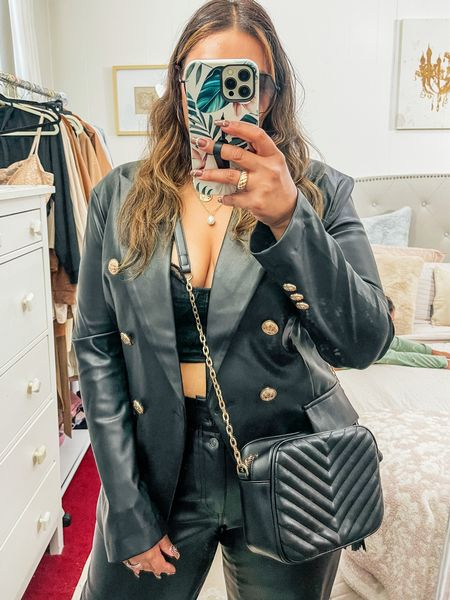 Calling all faux leather lovers   #LTKfit #LTKcurves #LTKstyletip