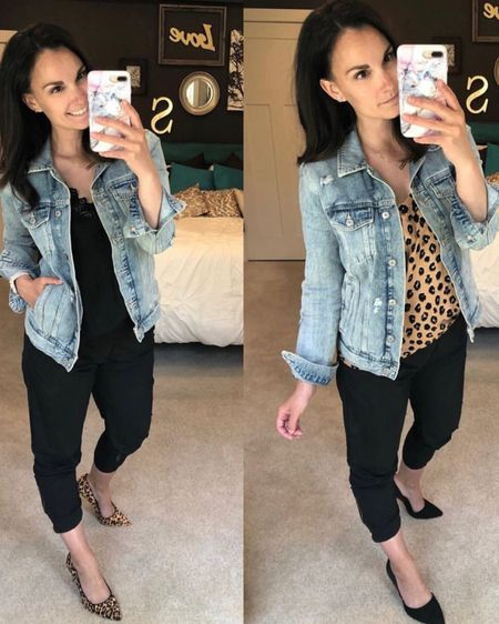 One more old pic, but I had to share my MOST favorite denim jacket because it's 50% off like everything else at Old Navy!!!  This one is the best, did I say that already?! Fits true to size, I wear a medium.   #liketkit http://liketk.it/2YzHu @liketoknow.it #LTKsalealert