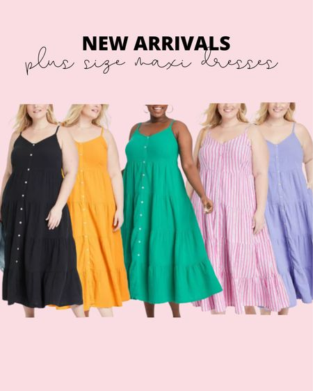 These new plus size maxi dresses are perfect for a summer vacation outfit! If you need a plus size summer dress, this one is perfect!   #LTKcurves #LTKunder50 #LTKstyletip