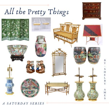 This Saturday's Series is on Chinoiserie. Check out my stories and Shop your screenshot of this pic with the LIKEtoKNOW.it shopping app. Antiques and accessories curated by @shelbyamesinteriors from @chairish and @1stdibs #antiques #chinoiserie #saturdayshopping #shelbyssaturdayseries #shelbyamesinteriors #LTKhome http://liketk.it/3dalI #liketkit @liketoknow.it