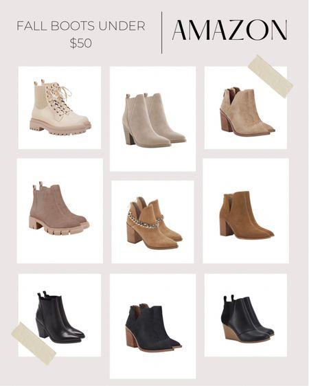 Amazon boots  #amazonboots #amazonbooties #fallboots #fallbooties #fallshoes   #LTKunder50 #LTKSeasonal #LTKshoecrush