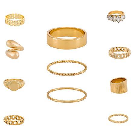 Rings Under $100  #LTKworkwear #LTKstyletip #LTKunder100