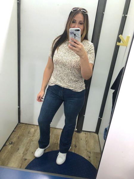 #oldnavy #jeans #cheetah #casual #comfy   #LTKcurves #LTKunder50 #LTKstyletip