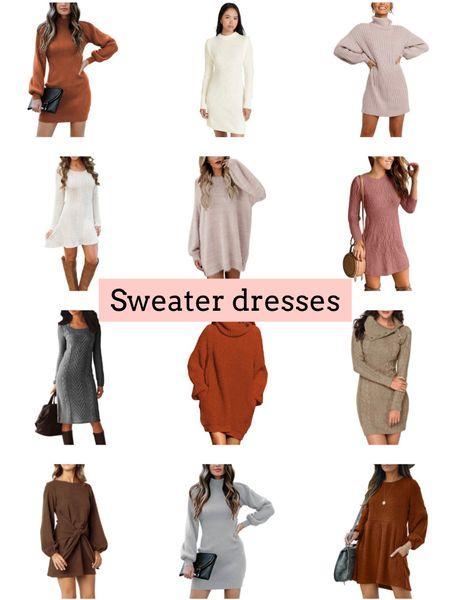Sweater dresses   #LTKSeasonal #LTKstyletip #LTKunder50