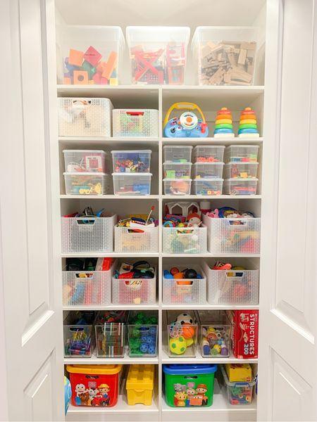 Shop this weeks move in products! Playroom toy storage + design! 🧸  #LTKfamily #LTKkids #LTKunder50