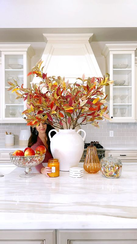 SIMPLE & EASY FALL HOME DECOR TIPS   1: Invest in a nice set of fall foliage stems (you'll have them forever) 2: Display seasonal fruit & candies (you'll actually eat these) 3: Light a seasonal candle (this sets the mood & makes your home smell so good!)  LINK IN BIO TO SHOP all these items and more! Tags: fall foliage, fall florals, faux fall florals, fall leaves, fall home decor, Halloween home decor, Rachel Parcell, rach Parcell, pottery barn, fall candle   #LTKSeasonal #LTKhome #LTKHoliday