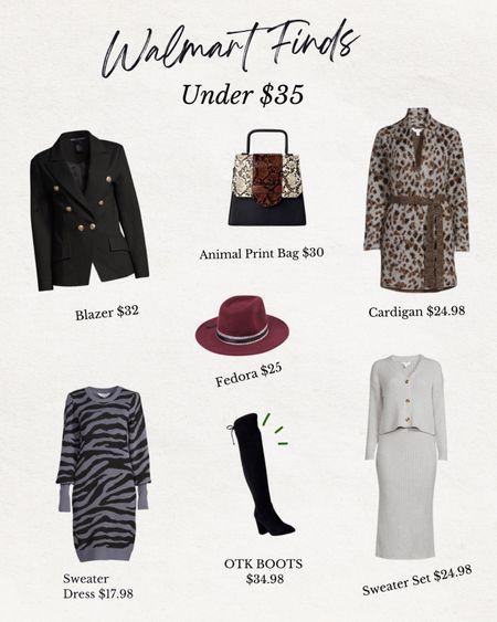 Walmart fall favs under $35   #LTKsalealert #LTKcurves #LTKunder50