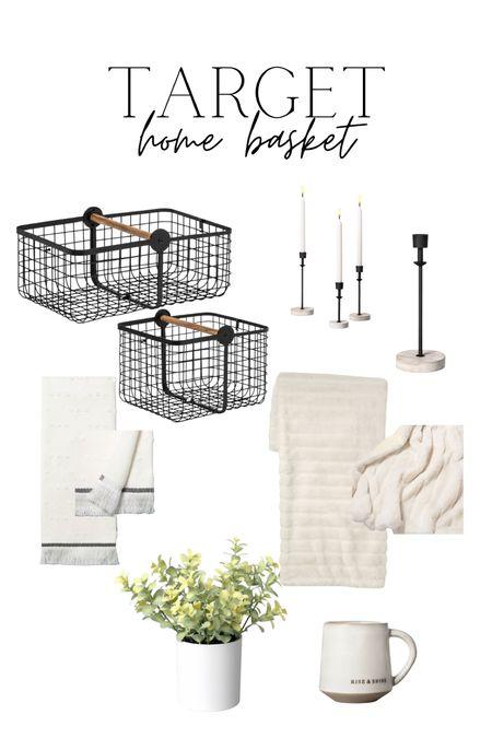 Target home decor Target home basket Target gift idea