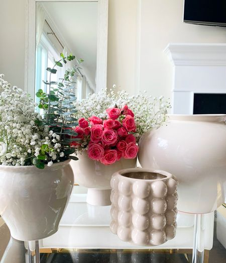 Sharing some of my favorites vases ! These are perfect for home decor styling and for flower arrangement.   #LTKunder50 #LTKhome