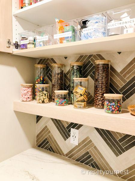 Shop this butler pantry look organized by Reset Your Nest! http://liketk.it/3jfwJ @liketoknow.it #liketkit #LTKunder100 #LTKhome #LTKfamily #ltkkitchen #ltkorganized @liketoknow.it.home @liketoknow.it.family