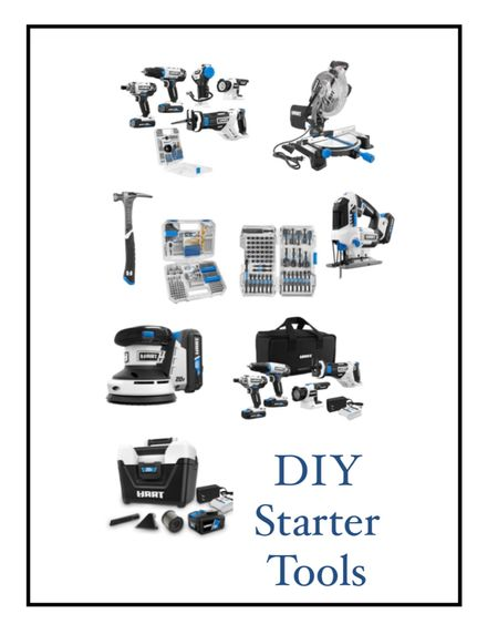DIY Starter Tools http://liketk.it/35kvE #liketkit @liketoknow.it #LTKunder100 #LTKunder50 #LTKhome