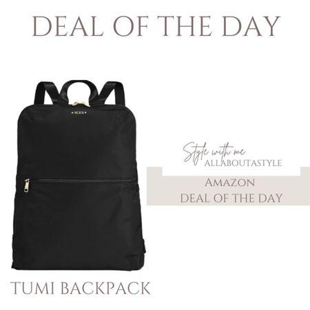 Deal of the Day. Tumi Backpack. #amazon #amazonfinds  #LTKHoliday #LTKSeasonal #LTKGiftGuide