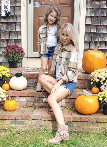 love these soft afforadable flannels!#matching  #LTKSeasonal #LTKfamily #LTKkids