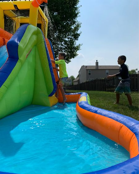 It's been one week since we bought our Waterslide and my kids have played it it for hours every single day!!  It has been one of the best investments this summer.  Especially with swim places having limits.  I highly recommend it!! http://liketk.it/3horI @liketoknow.it #LTKkids #LTKbaby #LTKfamily #LTKhome @liketoknow.it.family #liketkit