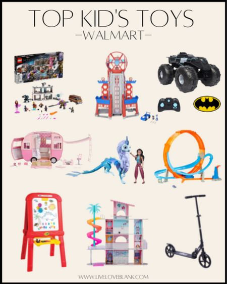 Walmart's top toys for kids chosen by kids for the holidays  Holiday gift ideas for boys and girls   #LTKkids #LTKGiftGuide #LTKHoliday