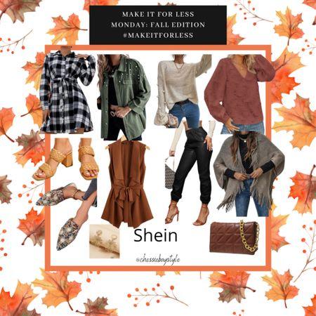 Make it for less fall edition- Shein  #LTKbacktoschool #LTKunder50 #LTKSeasonal