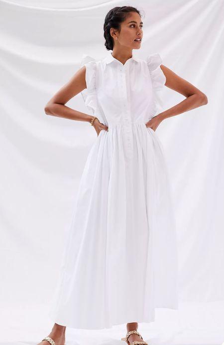 White summer dresses  #LTKstyletip #LTKtravel #LTKSeasonal