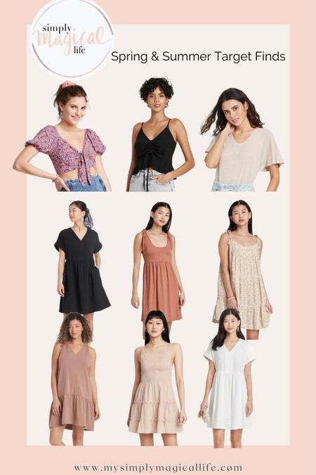 Target Style spring and summer haul: Neutral dresses, tie tops and the perfect little black and white linen dresses! All under $25 http://liketk.it/3f5rE #liketkit @liketoknow.it #LTKstyletip #LTKunder50 #LTKunder100