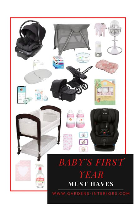Baby's First Year Must Have. See blog post for my complete list. I can only tag 16 items on LTK.   #firstyearmusthaves #bugaboo #nuna #bassinet #musthavebabyproducts #owlet #highchair #stroller #carseat   #LTKbaby #LTKGiftGuide #LTKfamily