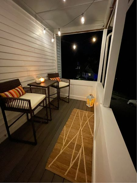 I finally got the deck all decorated!! Outdoor Furniture is Amazon and I linked dupes for everything else which I found at HomeGoods!  #LTKhome #LTKSeasonal #LTKsalealert