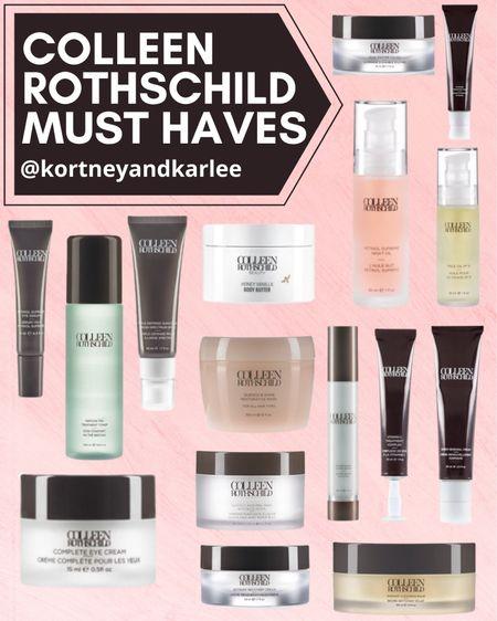 Colleen Rothschild 25% off sale! Use the code: LTKDAY  Colleen Rothschild sale | colleen Rothschild skincare | Colleen Rothschild favorites | Kortney and Karlee | LTK Summer Sale | #kortneyandkarlee #LTKDay #LTKDay21 #LTKSummerSale #LTKunder50 #LTKbeauty #LTKunder100 #LTKsalealert #LTKhome #LTKstyletip #LTKSeasonal #LTKtravel @liketoknow.it #liketkit http://liketk.it/3hu7d