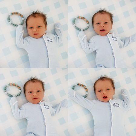 Baby boy personalized sleeper   #LTKbaby #LTKbump #LTKfamily