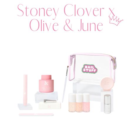 Obsessed with this new collab between Stoney Clover and Olive & June! The polishes are SO GOOD and their nail care is even better!   #LTKstyletip #LTKbeauty #LTKhome