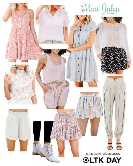 Shop the Mint Julep boutique favorites! 25% off with LTK25  http://liketk.it/3hkwv #liketkit @liketoknow.it #LTKsalealert #LTKDay #LTKunder50