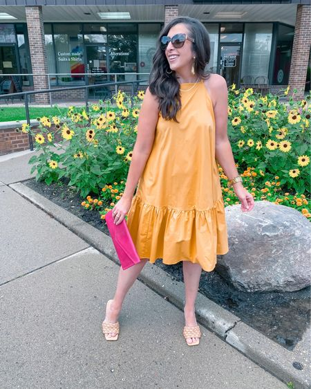 ✅ Flattering halter neckline  ✅ Pockets  ✅ Feminine ruffle details ✅ Incredibly comfortable  ✅ Bold color  ✅ On sale!! ✅ Prepare for LOADS of compliments 🤩   This beauty checks all the boxes and is $75 when you add to cart! Or stop in to @anntaylor_cincinnati and mention StephStyle101 for an extra 15% off, sale prices included!  You can shop the rest of my looks one of these easy ways!  1️⃣ Click the link in my Profile 2️⃣ DM me for any links 💕 3️⃣ Screenshot a look for the @liketoknow.it app 4️⃣ Follow me @stephstyle101 on the FREE @liketoknow.it app to get all the shopping details of this outfit and all my other outfits.  #LTKstyletip #LTKsalealert #LTKcurves #liketkit http://liketk.it/3jGy2    Want to share your fave Affordable Fashion Finds and get a good B00ST? Follow the host below and send a DM to add you: @mommylexiloves   * * #Aff0rdAb13fashi1onF1ndSw3eKTw3ntyTW0 * * * * * #anntaylor #thisisann #cincystyle #cincinnatimom #cincymom #cincinnatiinfluencer #cincinnatiblogger #summeroutfit #summerstyles #summerfashion #summerlook #summervibes #summerstyle #summerdays #summerdays☀️ #summeroutfits #outfitoftheday #blazer #bolddress #statementdress #summerdress #elevatedfashion #elevatedlook #lookgoodfeelgood