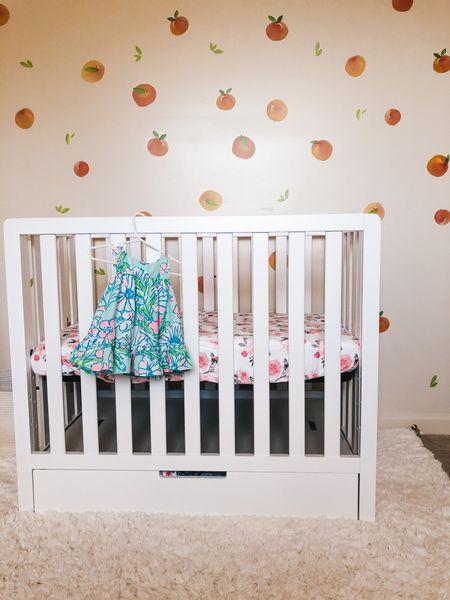Sweet southern baby girl nursery   #LTKbaby #LTKhome #LTKunder100