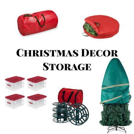 Christmas Decor Storage   #LTKhome #StayHomeWithLTK #LTKNewYear