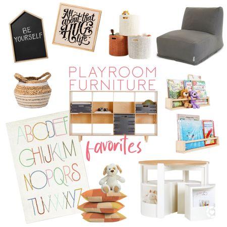 Some Playroom Furniture / Decor Favorites!   #LTKkids #LTKfamily #LTKunder50