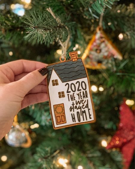 Our 2020 Christmas Tree ornament came and it's pretty perfect 🥰🎄 #ltkholiday   #StayHomeWithLTK #LTKhome #LTKunder50