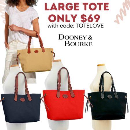 Dooney & Bourke sale! Handbags & totes under $100.  #LTKsalealert #LTKitbag #LTKunder100