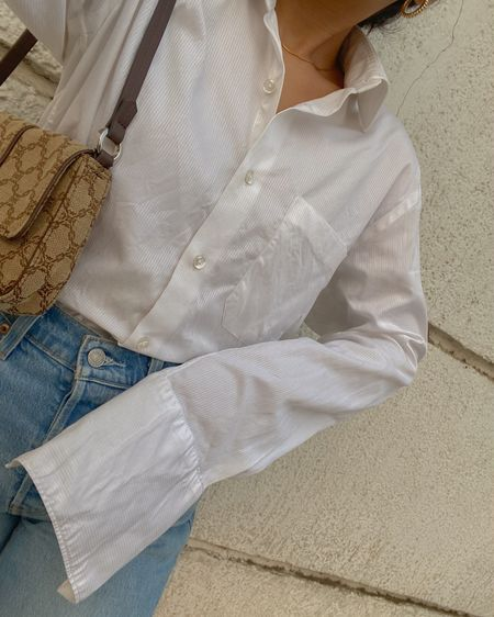 Elegance with Oversized shirts... @liketoknow.it #liketkit http://liketk.it/3bCZp #LTKSpringSale #LTKworkwear #LTKunder100